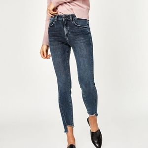 Mavi Gold Tess Twisted High-rise Skinny JEANS  27